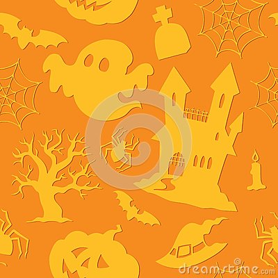 Halloween seamless background 2