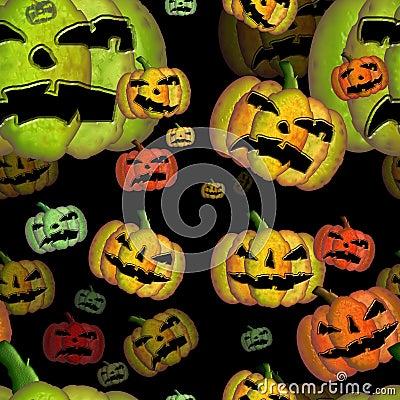 Free Halloween Seamless Black Tile Stock Photo - 6135320