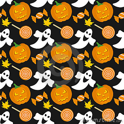 Halloween Seamless Pattern [1]