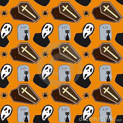 Halloween Seamless Pattern [2]