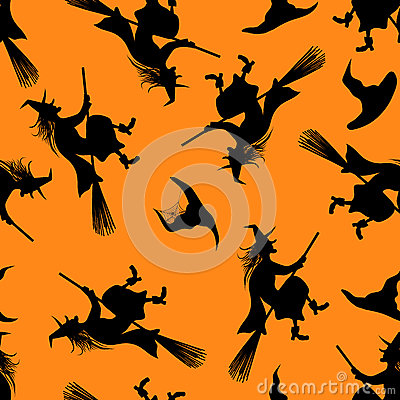 Free Halloween Seamless Pattern Stock Photos - 59810303