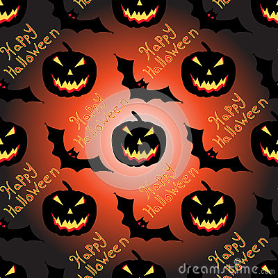 Free Halloween Seamless Vector Pattern Background Wallpaper Royalty Free Stock Photos - 56650088