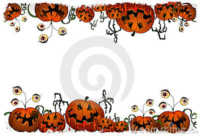 Halloween series - pumpkin monster