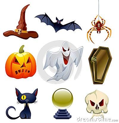 Free Halloween Set Stock Photo - 15800170
