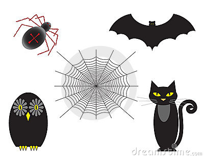 Halloween Set of Five
