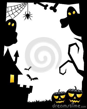 Halloween Silhouette Frame [1]