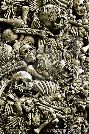 Free Halloween Skulls And Bones Stock Image - 8833981