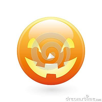 Halloween smile icon