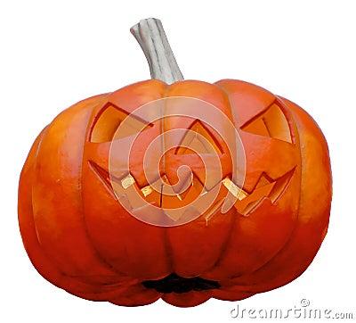 Halloween - Smiling Pumpkin