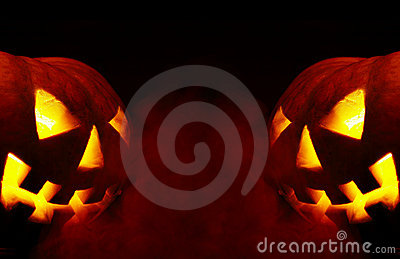 Halloween. a-smoke