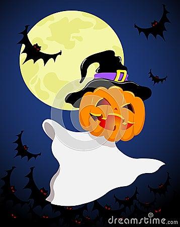Halloween spirit.