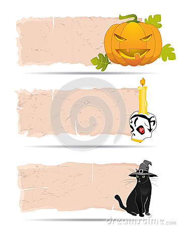 Halloween sticker vector