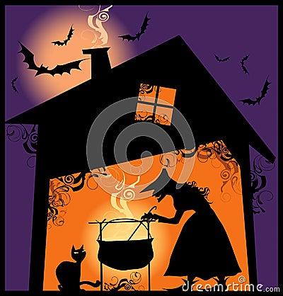 Halloween supper