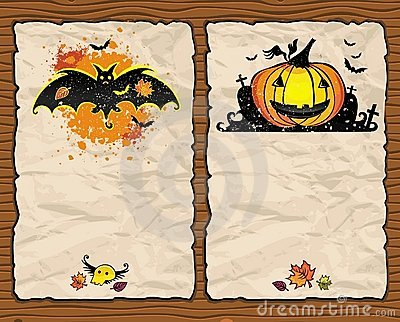 Halloween textured backgrounds 1