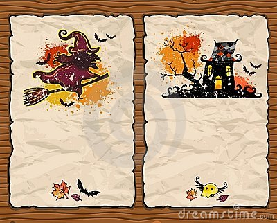 Halloween textured backgrounds 2
