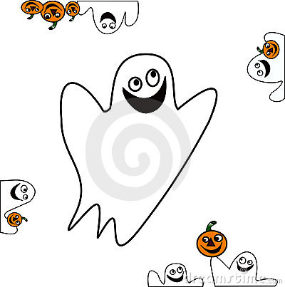 Free Halloween Vector Stuff-gosth Royalty Free Stock Photos - 3245398