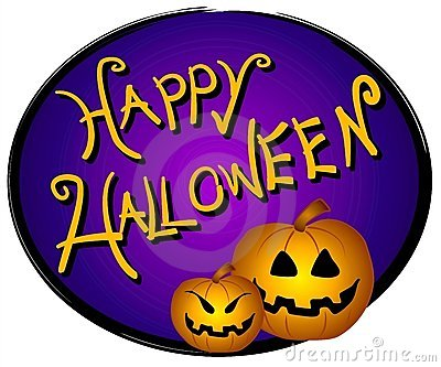 Halloween Web Page Logo Sign