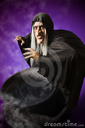 Free Halloween Witch Royalty Free Stock Image - 13351776