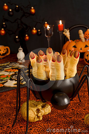 Halloween witch s fingers