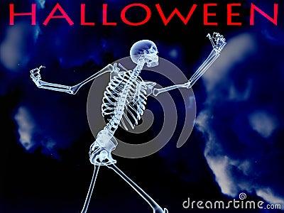 Halloween Xray Bone