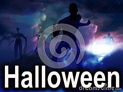 Halloween Zombies 2