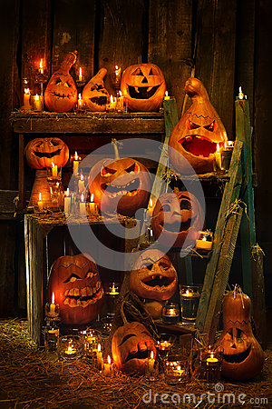 Halloweenowe banie