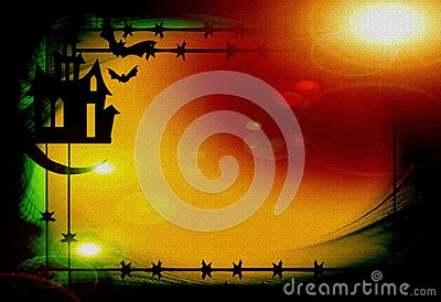 Hallowen-Hintergrund
