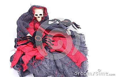 Hallowen spider/skeleton