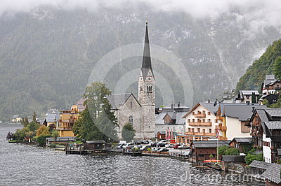 Hallstatt church
