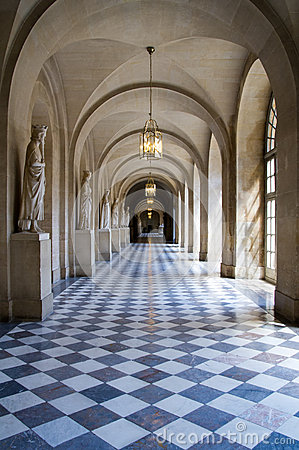 Free Hallway At Palace Of Versailles Royalty Free Stock Photography - 58919067