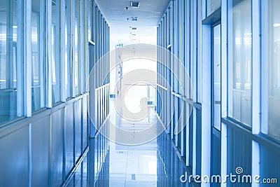 Hallway of computer room