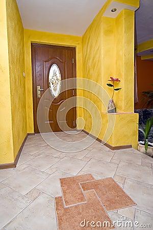 Hallway floor detail