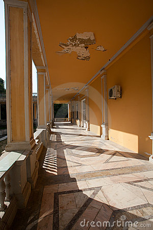 Hallway outside