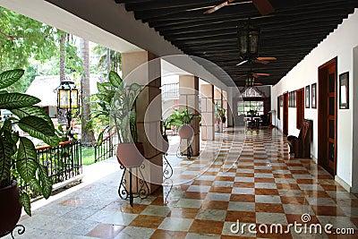 Hallway to lobby