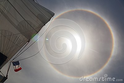 Halo effect on the ocean 2
