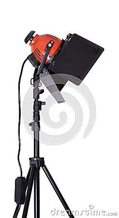 Halogen lamp isolated