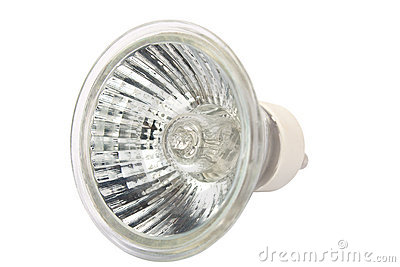 Halogen spot light bulb