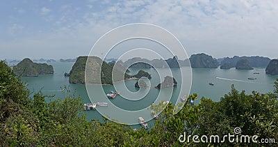 Halong Bay, Vietnam Editorial Photography