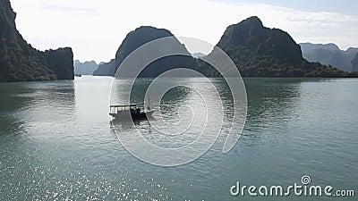 Halong zatoki rejs, Wietnam podróż zbiory wideo