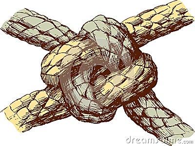 Haltbarer Knoten