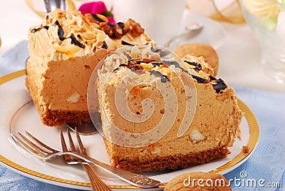 Halva taste cake