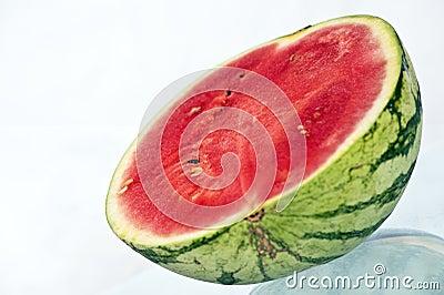 Halved melon
