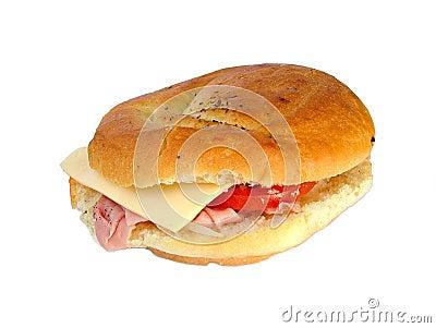 Ham cheese roll