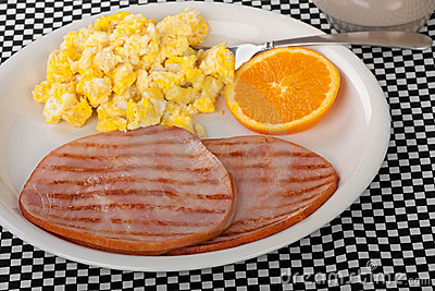 Ham and Egg Breakfast