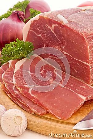 Free Ham Slices Stock Image - 11280151