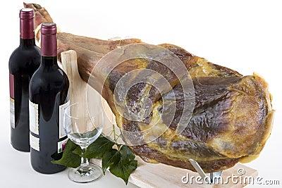 Ham with Wine 4