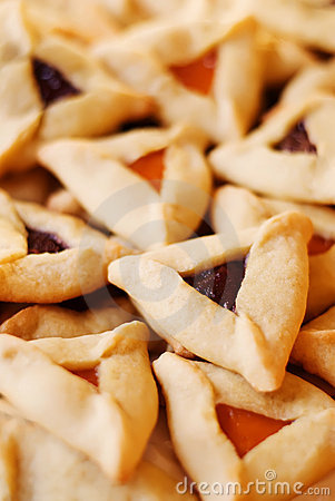 Free Hamantaschen Cookies Royalty Free Stock Photos - 18194418