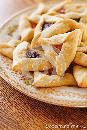 Free Hamantaschen Cookies Stock Images - 23284914