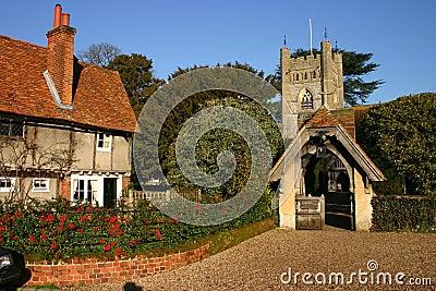 Hambleden Village And Church