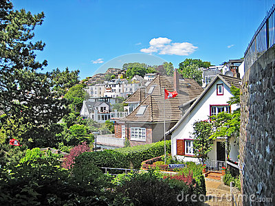 Hamburg Blankenese, Germany
